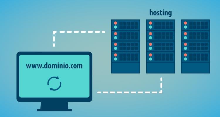 Dominio y hosting. Qué son