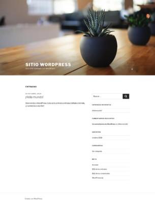 Front end de WordPress