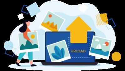 Optimización de imagen para web en PNG con fondo trasparente