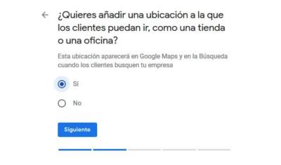 Ubicación física en Google Maps