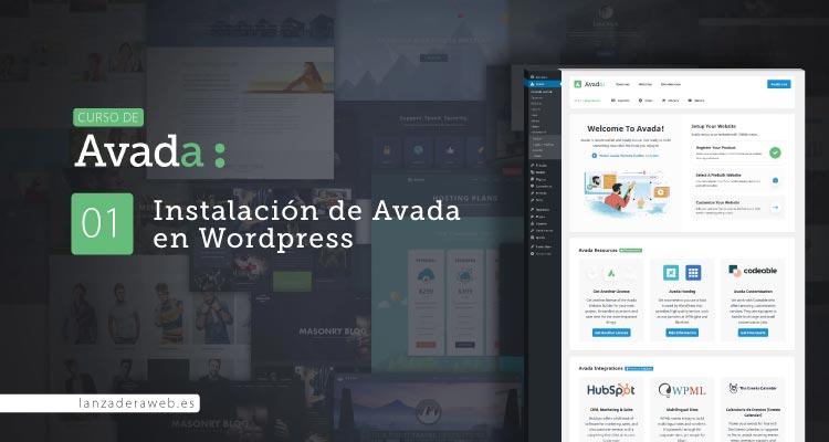 Instalación de Avada en Wordpress paso a paso