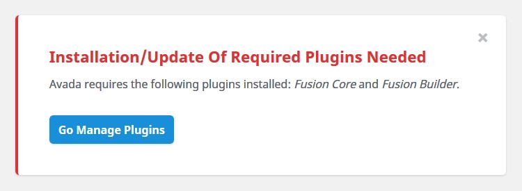 Instalación de plugins requeridos por el tema