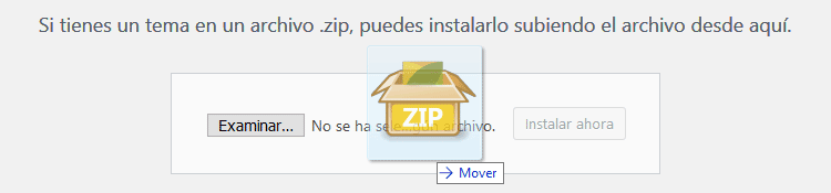Instalar tema Avada subiendo archivo Zip
