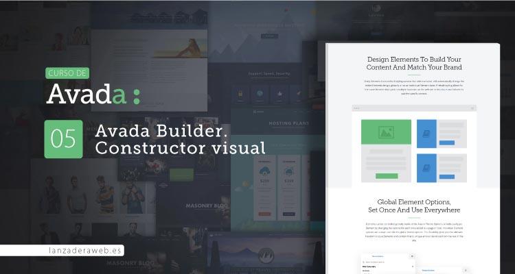 Avada Builder. Construir páginas con Avada