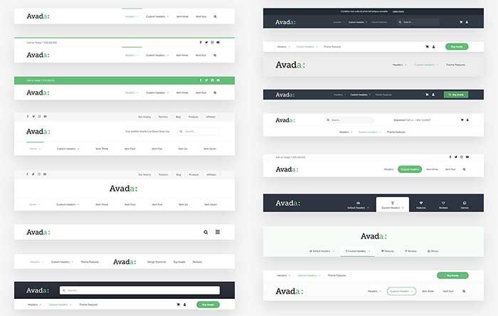 Nuevos pre-diseños de cabeceras con el Layout Builder