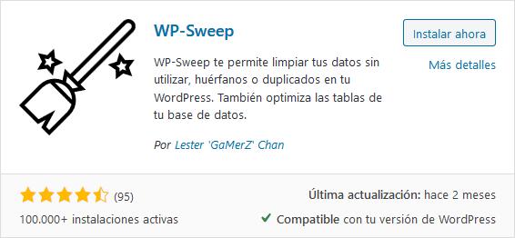 Plugin WP Sweep